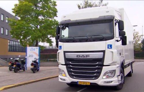 rijlessen vrachtwagen